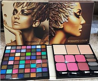 Romantic Color Professional Make up Matte Glitter Makeup Kit Collection