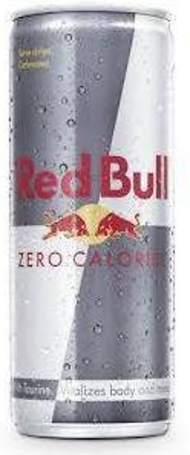 Red Bull Drink Can Zero Calories 250ml