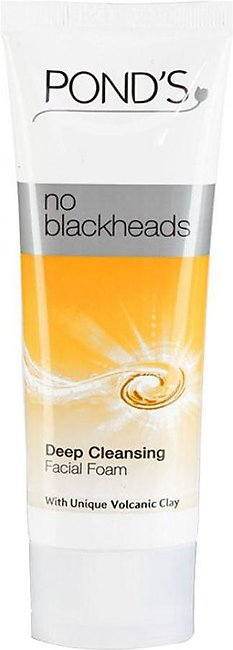 Ponds No Blackheads Deep Cleansing Face Wash Tube 100gm