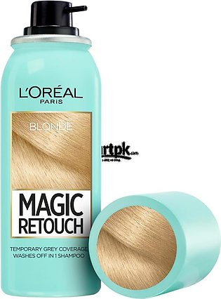 L'oreal Paris Magic Retouch Root Touch Up Hair Color Spray - Blonde 75ML