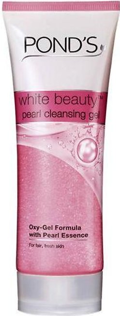 H Saving Ponds White Beauty Pearl Cleansing Gel