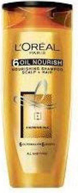 Loreal Shampoo 360ml 6 Oil Nourish