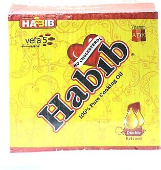 Habib Cooking Oil Pouch 1L 5Pcs Pack