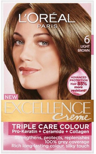 loreal excellence hair color#6