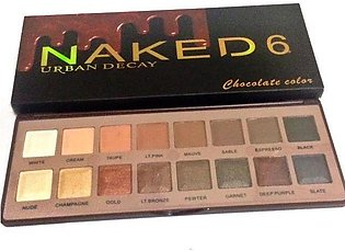 Chocolate Colour Naked 6 Urban Decay sh