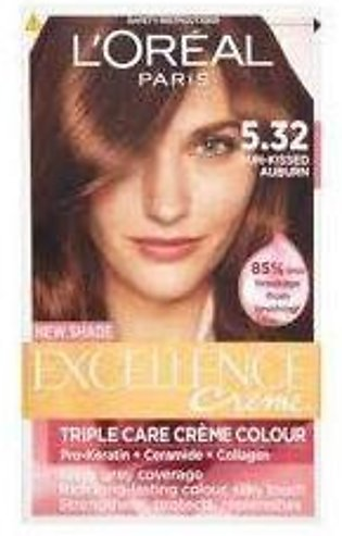 loreal excellence hair color#5.32