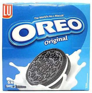Lu Oreo Sandwich Biscuit 6 Half Roll pack