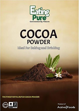 Eating Pure Cocoa Powder 200gm