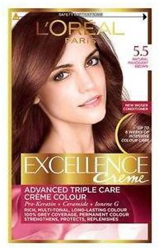 loreal excellence hair color#5.5
