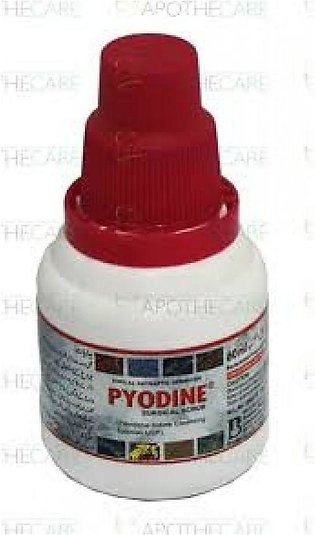 Pyodine Solution 10% – 60 ml.