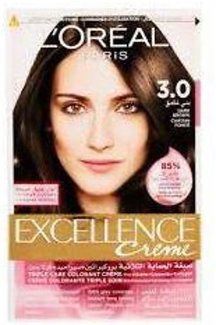 loreal excellence hair color#3.0