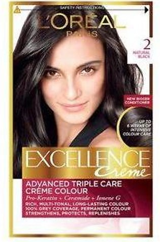 loreal excellence hair color#2