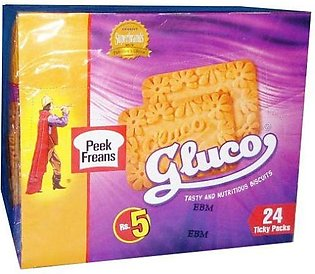 Peek Freans Gluco biscuit Ticky Pack