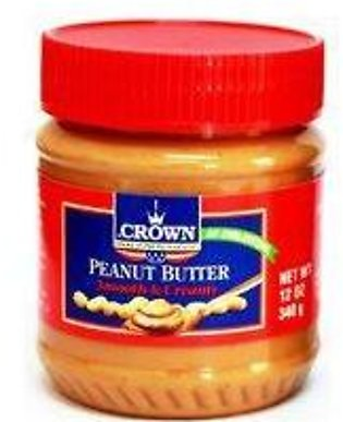Crown Peanut Butter Smooth & Creamy 340gm