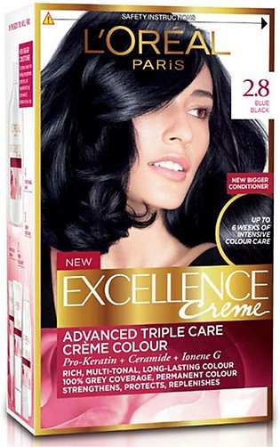 loreal excellence hair color#2.8