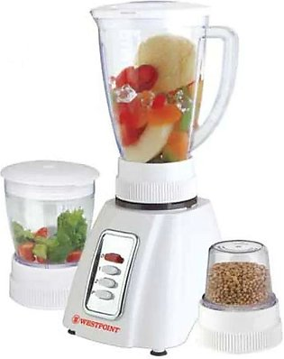 West Point Blender and Grinder 3 in 1 White WF-301