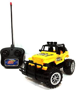 RC - King Sports Jeep - Yellow