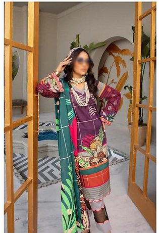 Rang Nagar Unstitched Printed Lawn Collection D-RN 404