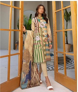Rang Nagar Unstitched Printed Lawn Collection D-RN 405
