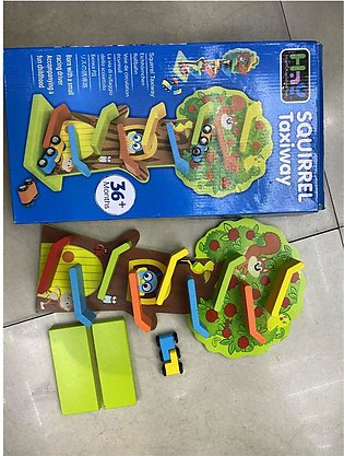 Wooden toys Squirrel Taxi 3573-0642