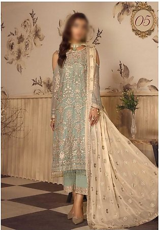 Noor e Rang Unstitched Collection D-ZF 05