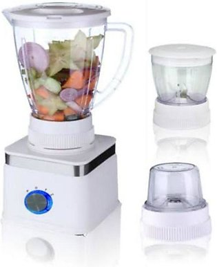 West Point Blender and Grinder 3 in 1 White WF-307