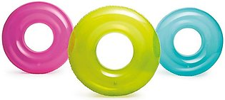 Intex - Fluorescent Transparent Swimming Pool Tube Rings - 30 inches - 59260