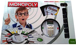 Monopoly Revolution Board Game With Credit Card Machine