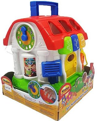Winfun 772 Sort 'N Learn Activity House With Light & Sound