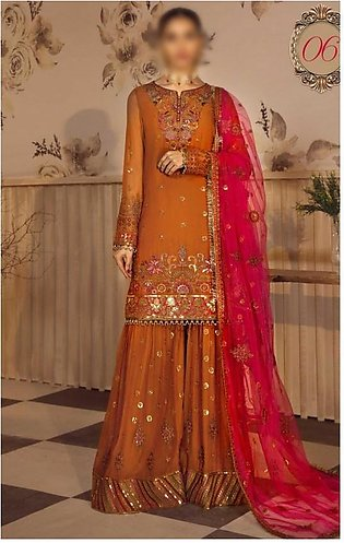 Noor e Rang Unstitched Collection D-ZF 06