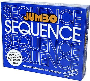Sequence Jumbo Edition Strategy Board Game