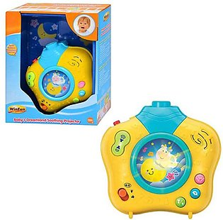 Winfun 806 Baby's Dreamland Projector With Light & Sound