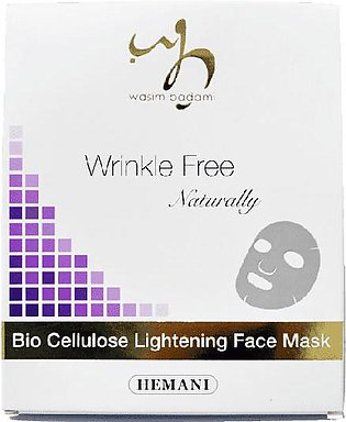 Wrinkle Free Naturally Bio Cellulose Lightening Face Mask