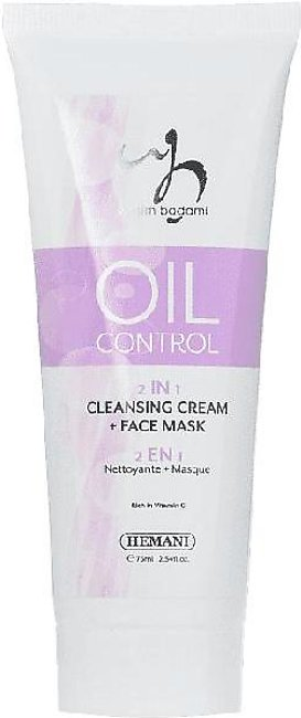 Oil Control 2In1 Cleansing Cream & Face Mask
