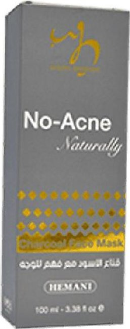 No Acne Naturally Charcoal Face Mask 100ml