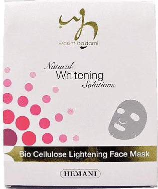 Natural Whitening Solutions Bio Cellulose Lightening Face Mask