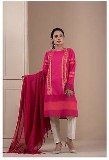 2-Piece | HandWoven Khaddi Embroided Suit