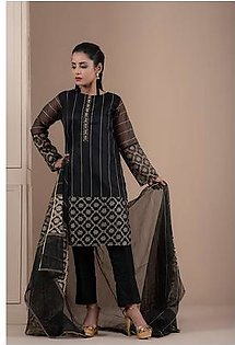 2-Piece | Khaddi Net Hand Work Suit