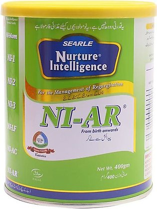 Searle NI-AR Baby Milk Powder 400gm Tin