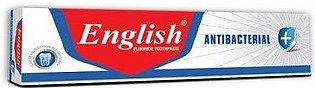 English ToothPaste Anti-Bacterial 70g Brush Pack