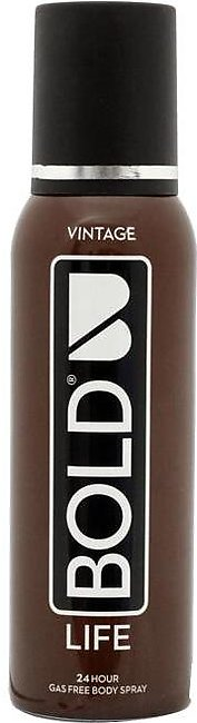Bold Body Spray Life 120ml Vintage