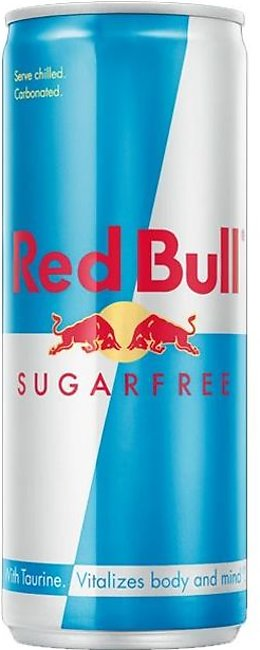 Red Bull Energy Drink Sugrr Free 250ml Tin