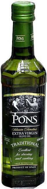Pons Olive Oil Extra Virgin 500ml Btl