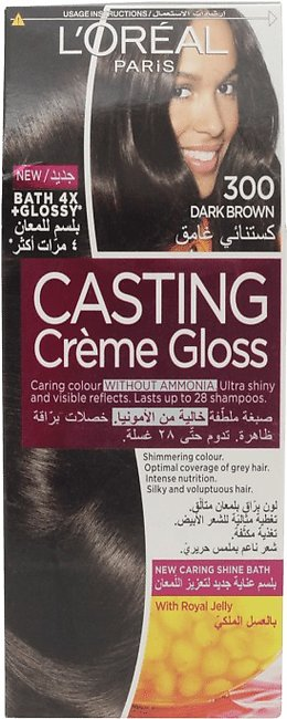 Loreal Hair Color Casting 300 Dark Brown