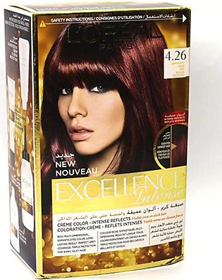 Loreal Excellance Hair Color Deep Red 4.26