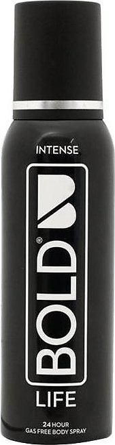 Bold Body Spray Life 120ml Intense