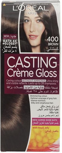 Loreal Hair Color Casting 400 Brown