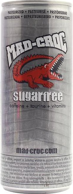 Mad-Croc Suger Free Energy Drink 250ml TIN