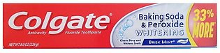 Colgate Tooth Paste Baking Soda & Peroxide 226g 33% Extra