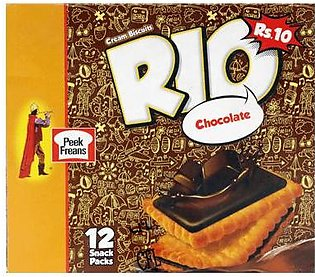 Peek Freans Rio Chocolate Snack Pack 12's